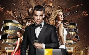 MissionDoppio de Robbie Williams pour Café Royal
